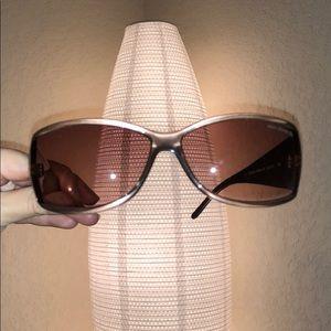 Ralph Lauren Shimmer Brown Frame Ombré Lense Sunny
